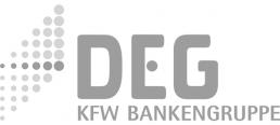 DEG logo grey