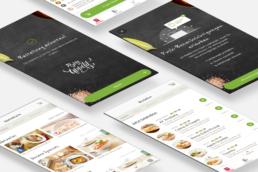 vapiano app screenshots