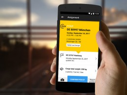 saloodo dhl freight android app for drivers