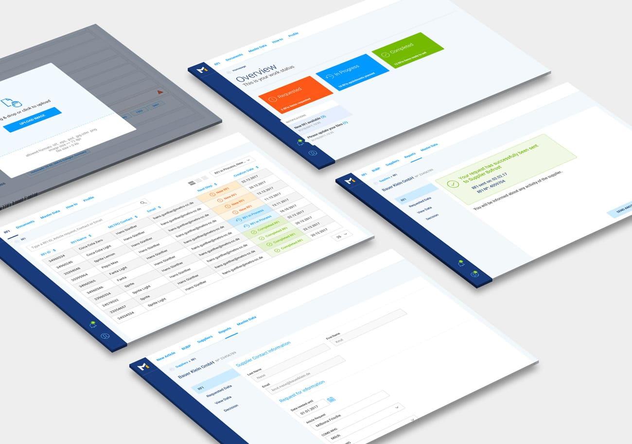 Master Data Management Strategy for METRO - Screenshots - MobiLab