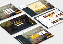 eatbu automatic website builder screenshots