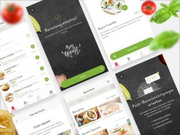 screenshot vapiano project by mobilab