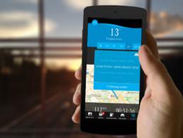 EQ Ready mobility app mockup