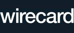 wirecard logo dark background