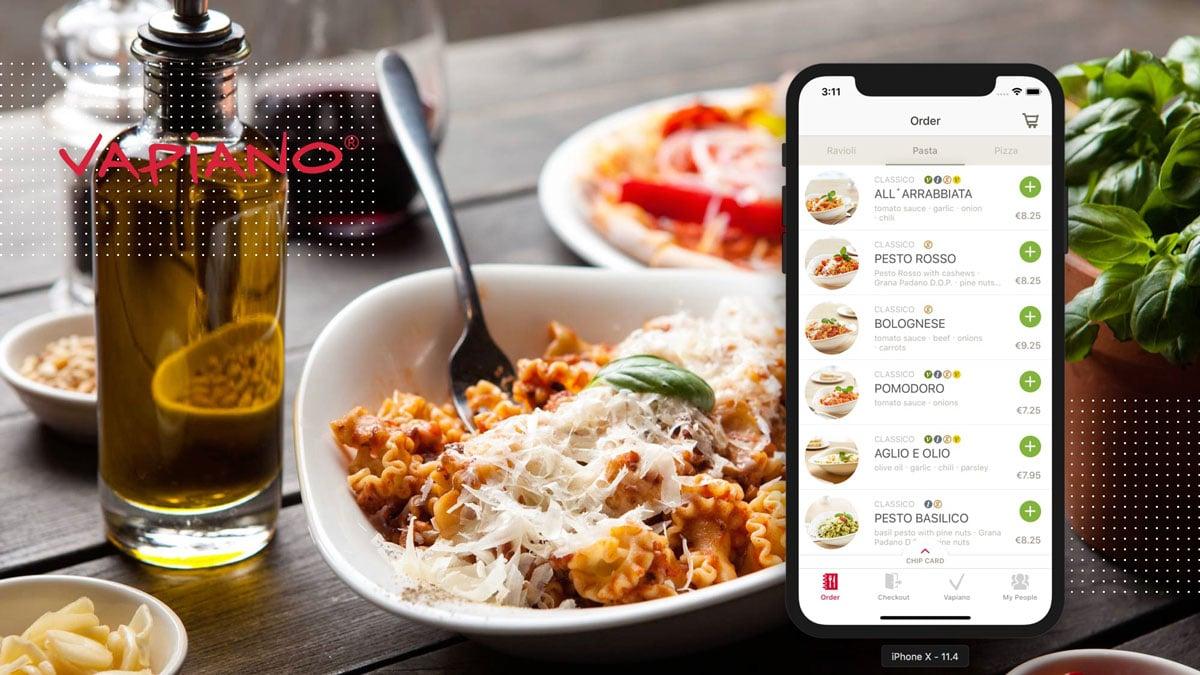 Vapiano Food Ordering App | MobiLab Blog