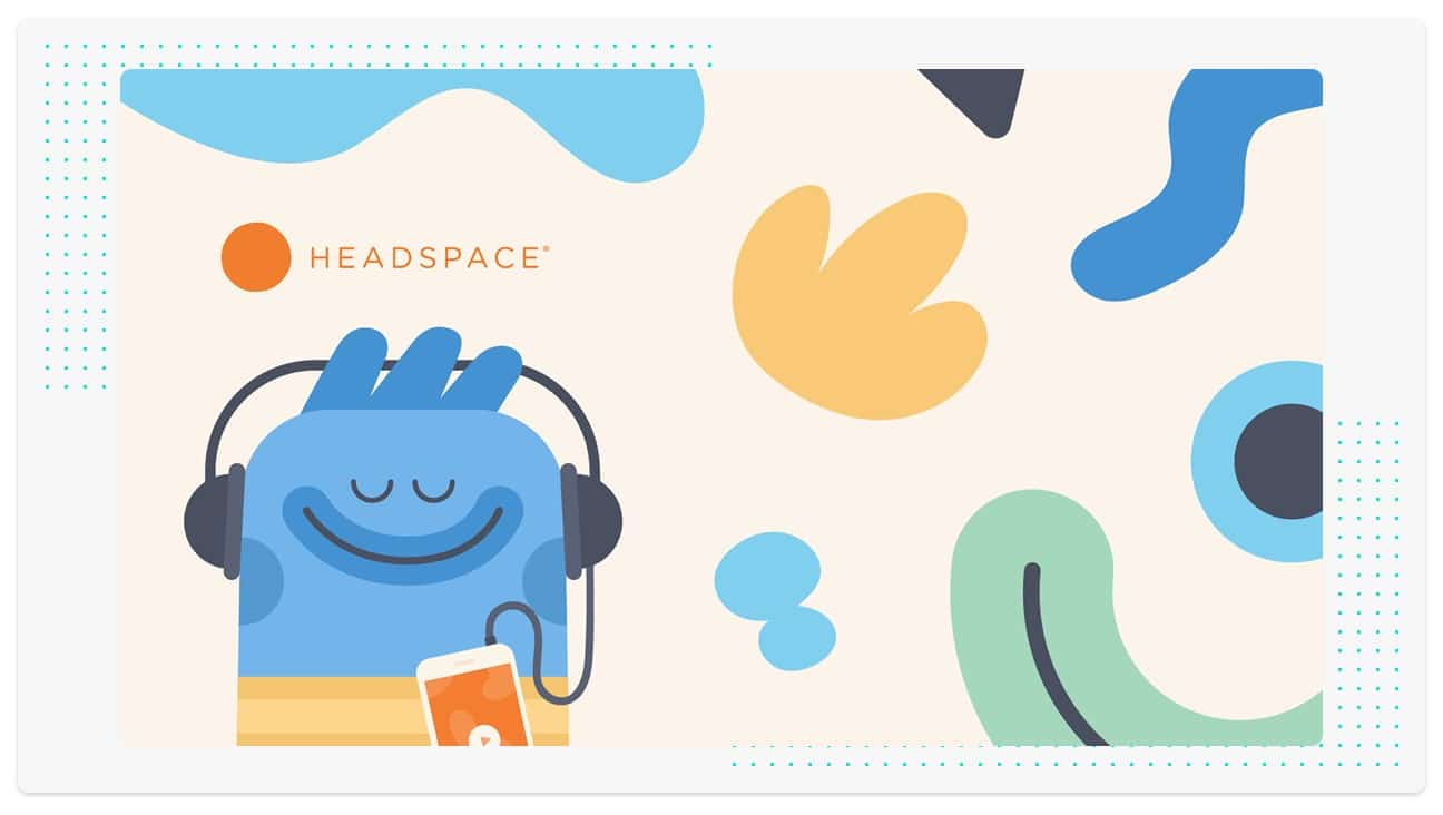 Headspace's friendly brand