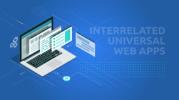 A Practical Technology Stack for Developing Multiple Interrelated Universal Web Apps