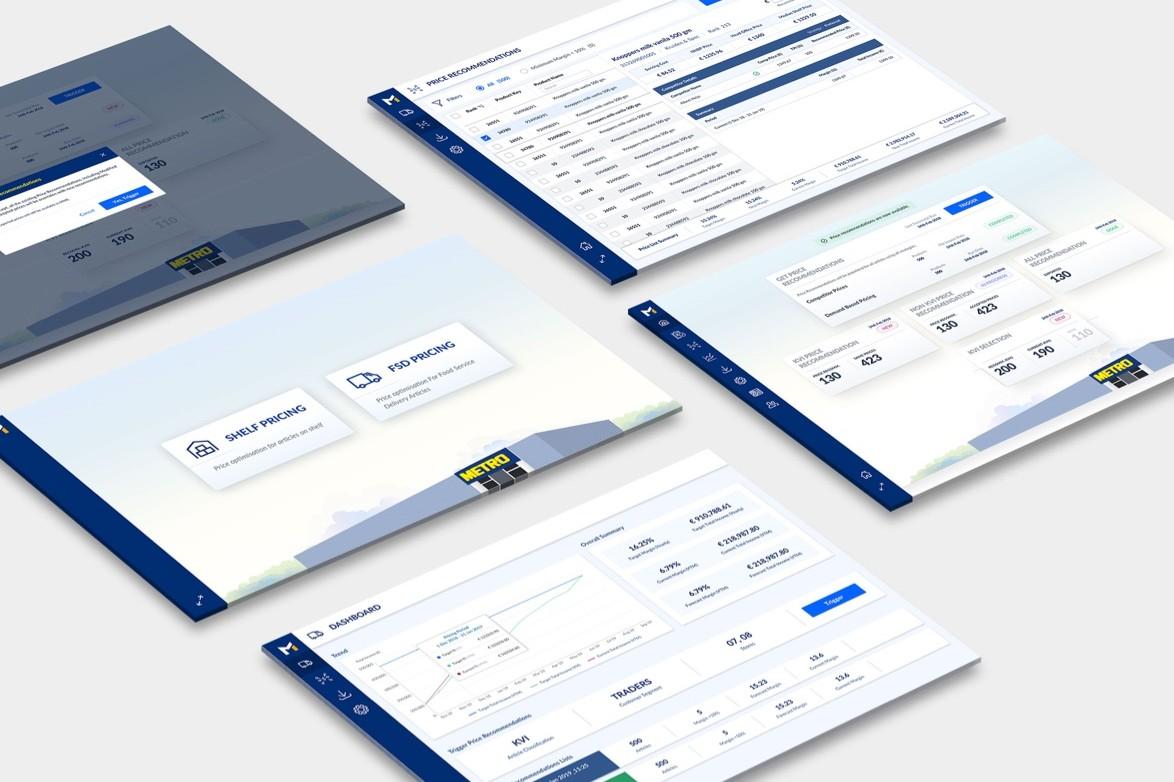 Data Optimization - Dynamic Pricing Platform Metro - Screenshots - MobiLab