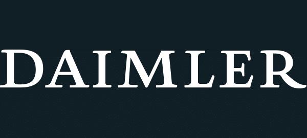 MobiLab customer - daimler logo